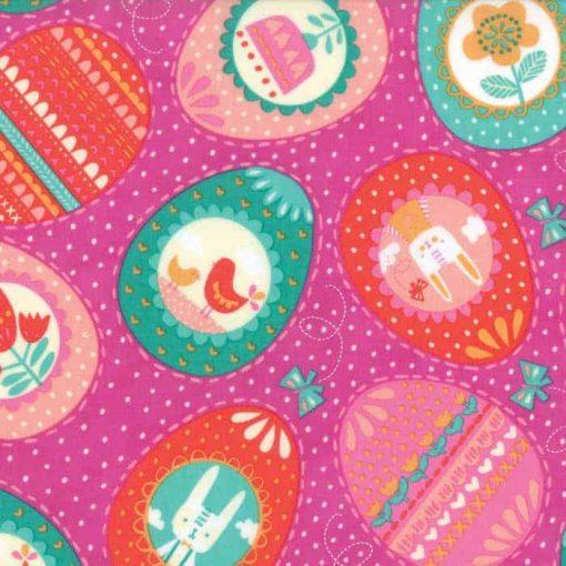 Moda Fabrics Spring Bunny Fun 20542-17