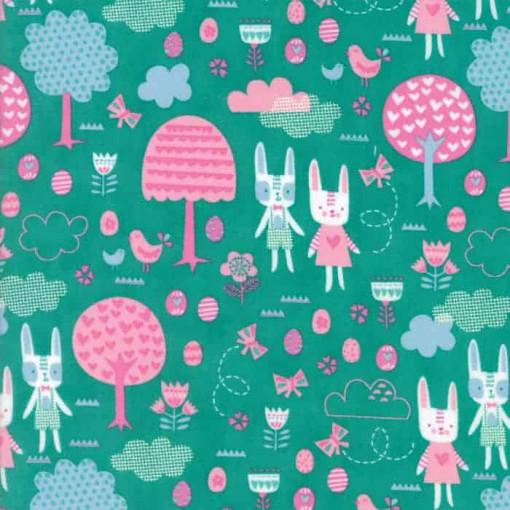 Moda Fabrics Spring Bunny Fun 20543-14