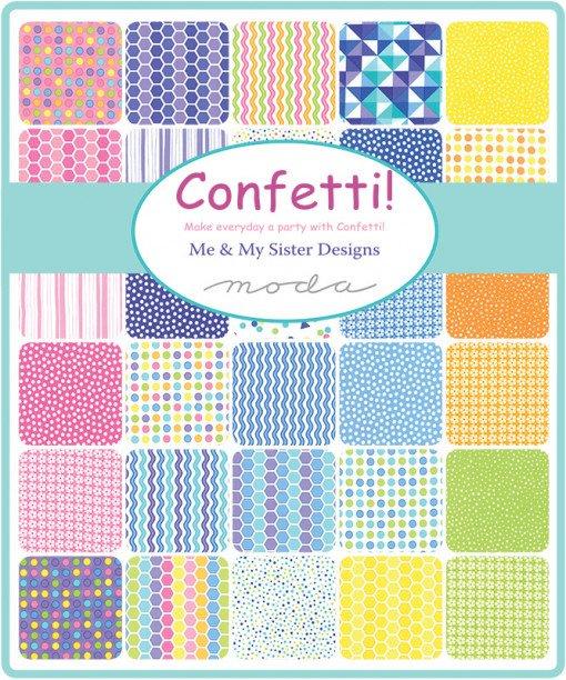 Moda Fabrics - Confetti