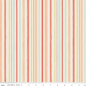 Woodland Spring Stripe C4995-CORAL