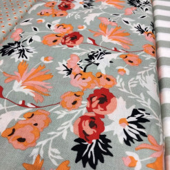 Riley Blake Apricot and Persimmon_C4900-MINT