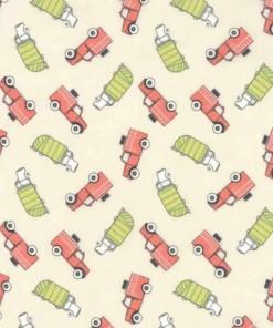 Moda Fabrics Mighty Machines 49022-11