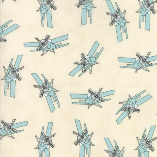 Moda Fabrics Mighty Machines 49023-11