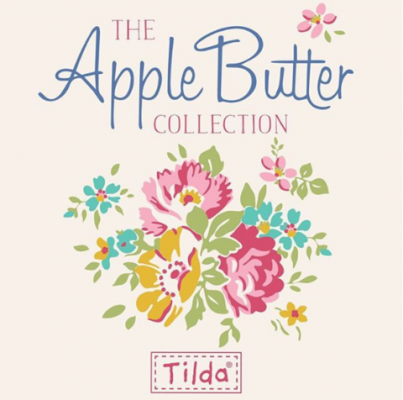 Tilda Fabrics - Apple Butter