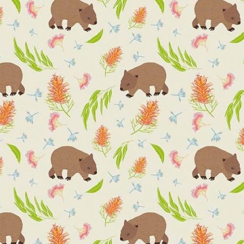 Monotremes & Marsupials 110cm 100% Cotton H
