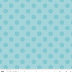 Medium Dot Tone on Tone C430-20-AQUA