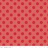 Medium Dot Tone on Tone C430-80-RED