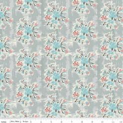 Abbie Floral Gray C7711-GRAY