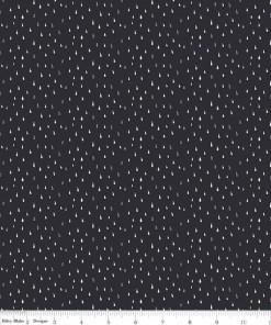 Abbie Raindrop Black C7716-BLACK