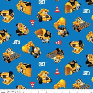 CAT® Buildin' Crew Wigglers All Over Blue C8101-BLUE