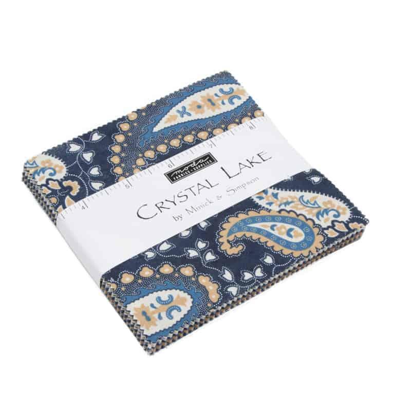 Moda Charm Pack – Crystal Lake M14870PP