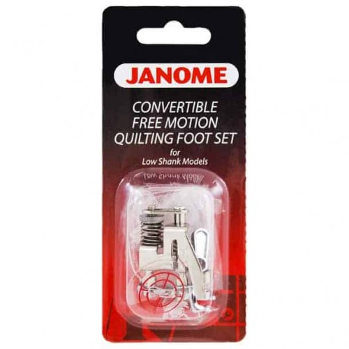 Janome Free Motion Quilting Foot Set - Low Shank Models