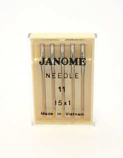 Genuine Janome – Machine Needles 15×1 Size 11