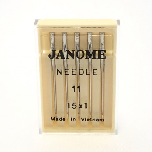 Genuine Janome – Machine Needles 15×1 Size 11