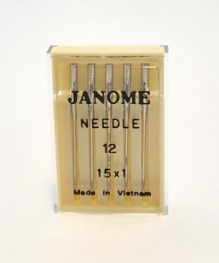 Genuine Janome – Machine Needles 15×1 Size 12