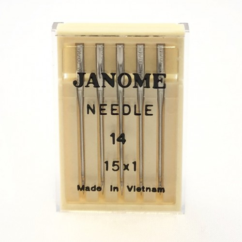Genuine Janome – Machine Needles 15×1 Size 14