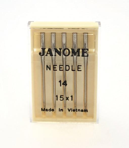 Genuine Janome – Machine Needles 15×1 Size 14