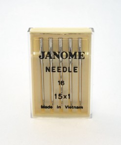 Genuine Janome – Machine Needles 15×1 Size 16