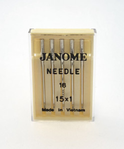 Genuine Janome – Machine Needles 15×1 Size 16