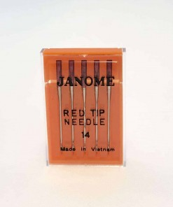Genuine-Janome-Red-Tip-Needles-Size-14