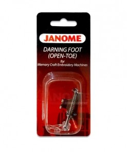 Janome Open Toe Darning Foot High Shank
