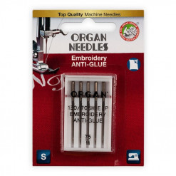 Organ Embroidery Sewing Machine Needles 5117075BL
