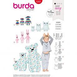 Burda Style Pattern - B-6303