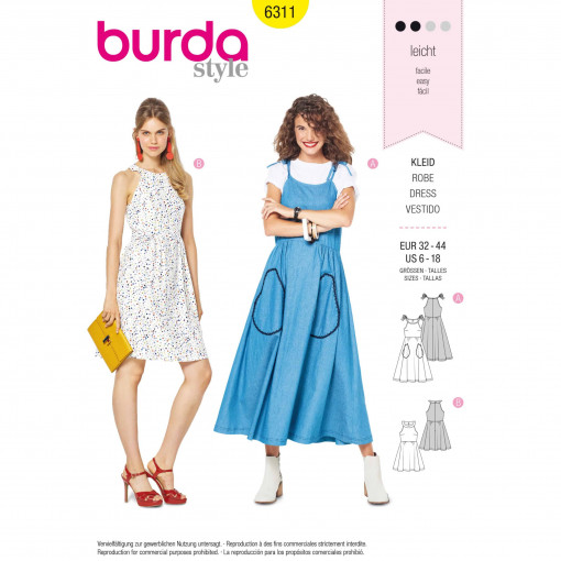 Burda Style Pattern - B-6311