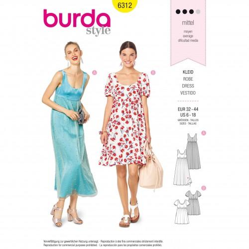 Burda Style Pattern - B-6312