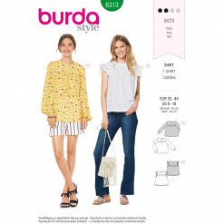 Burda Style Pattern - B-6313