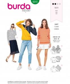 Burda Style Pattern - B-6315