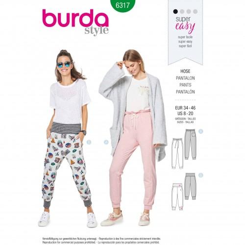 Burda Style Pattern - B-6317