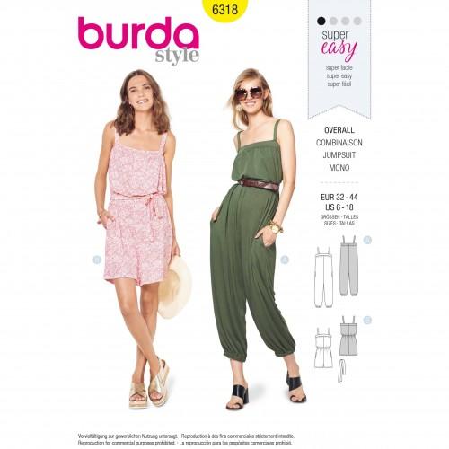 Burda Style Pattern - B-6318