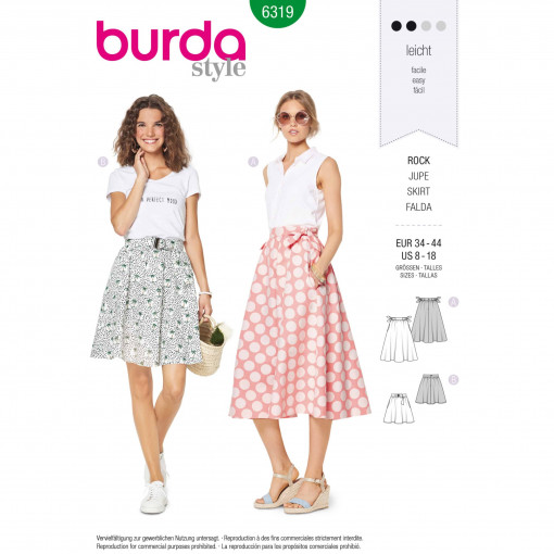 Burda Style Pattern - B-6319