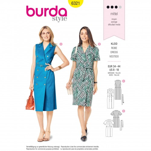 Burda Style Pattern - B-6321