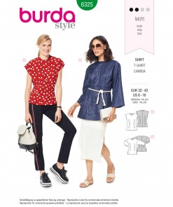 Burda Style Pattern - B-6325