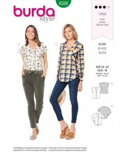 Burda Style Pattern - B-6326