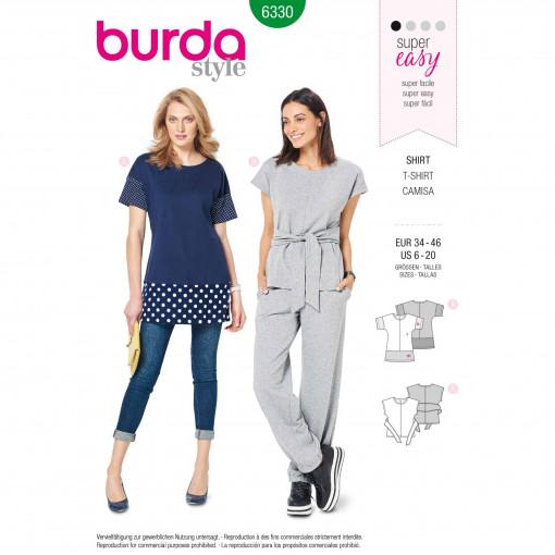 Burda Style Pattern - B-6330
