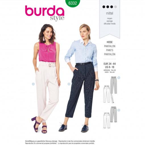 Burda Style Pattern - B-6332