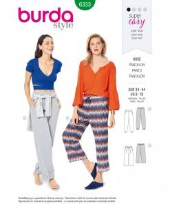 Burda Style Pattern - B-6333