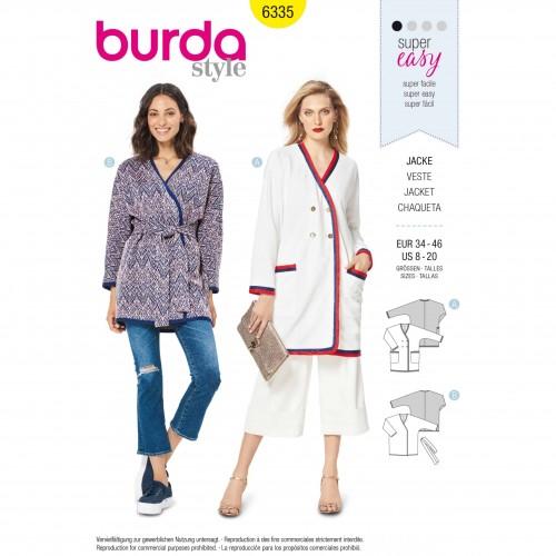 Burda Style Pattern - B-6335