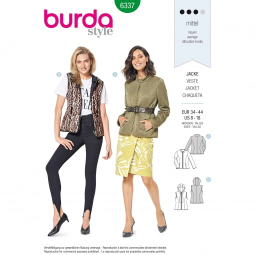 Burda Style Pattern - B-6337