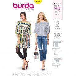 Burda Style Pattern - B-6345