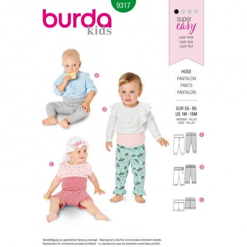 Burda Style Pattern - B-9317