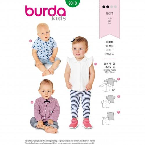Burda Style Pattern - B-9318