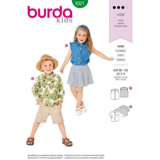 Burda Style Pattern - B-9321