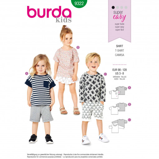 Burda Style Pattern - B-9322