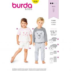 Burda Style Pattern - B-9326