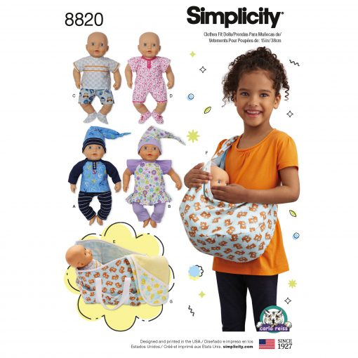 Simplicity Sewing Pattern - 8820-OS