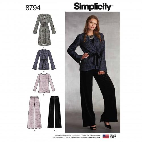 Simplicity Sewing Pattern - 8794-U6